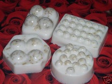 4 oz VANILLA OATMEAL MASSAGE BAR SOAP 100% All Natural Glycerin Oat Bath Body Bar Essential Oil Scented
