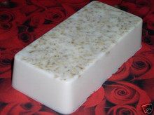 12 oz VANILLA OATMEAL SOAP LOAF Loaves 100% All Natural Glycerin Glycerine Oat Bath Body Bar Essential Oil Scented