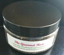 8 oz ROSEMARY GERANIUM SALT BODY SCRUB Mineral Dead Sea Salt Bath Spa Polisher Salts Handmade 100% All Natural Herbal Essential Oil Scented