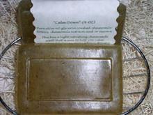 4 oz REAL CHAMOMILE FLOWER OLIVE OIL SOAP 100% All Natural Handmade Herbal Tea Castile Glycerine Glycerin Bath Body Bar Made With Essential Oil
