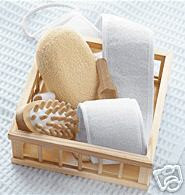 LUXURY BATH ACCESSORY SET Accessories Kit Luxury Gift Basket