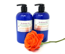 32 oz SET ORGANIC NATURAL SHAMPOO & CONDITIONER SLS SLES Paraben Free No Sodium Laurel Sulfate Biodegradable Clean Green Living Eco Friendly Botanical Herbal 16 oz Each