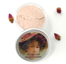 #5 LIGHT COOL Large Jar Minerals Sheer Acne Cover Foundation Bare Makeup LIGHT SKIN WITH PINK COOL TO NEUTRAL TONES #5