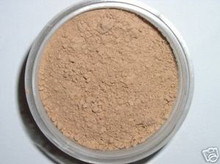 Sample Jar TAWNY MINERAL VEIL Matte Finishing Setting Loose Mineral Booster Powder Bare Flawless Minerals Photogenic Oil Absorbing Finish Cover Trial Size WORKS WELL WITH TAN, DARK & DEEP SKIN TONES