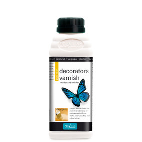 Decorators Varnish Gloss Finish