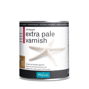 Oil Based Extra Pale Varnish Eggshell