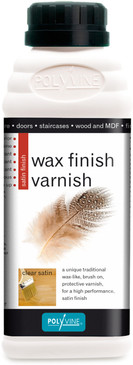 Wax Finish Varnish Clear Satin