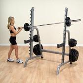 BodySolid GPR370 Multi Press Squat Rack