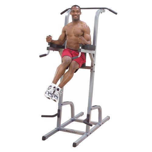 BodySolid GVKR82 Vertical Knee Raise Dip Pull Up Station Fitness Tree