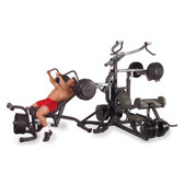 BodySolid SBL460P4 Leverage Gym Package