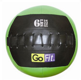 "GoFit 10"" Mini Crossfit-style Wall Ball Vinyl Medicine Ball- 6lbs"