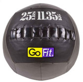 "GoFit 14"" Crossfit-style Wall Ball Vinyl Medicine Ball- 25lbs"