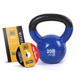 GoFit 20lb Kettlebell w/ Workout DVD