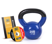 GoFit 20lb Kettlebell w/ Workout DVD