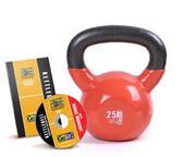 GoFit 25lb Kettlebell w/ Workout DVD