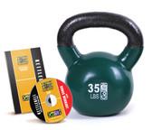 GoFit 35lb Kettlebell w/ Workout DVD