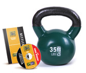 GoFit 35lb Kettlebell w/ Workout DVD