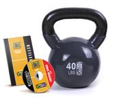 GoFit 40lb Kettlebell w/ Workout DVD