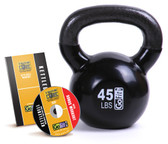 GoFit 45lb Kettlebell w/ Workout DVD