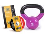 GoFit 7lb Kettlebell w/ Workout DVD