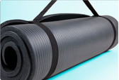 "GoFit Fit Mat with Carry Strap - 3/8"" thick x 2' x 6'"