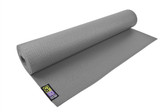 GoFit Yoga Mat with Yoga Pose Wall Chart - Gray