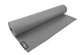 GoFit Yoga Mat with Yoga Pose Wall Chart - Gray