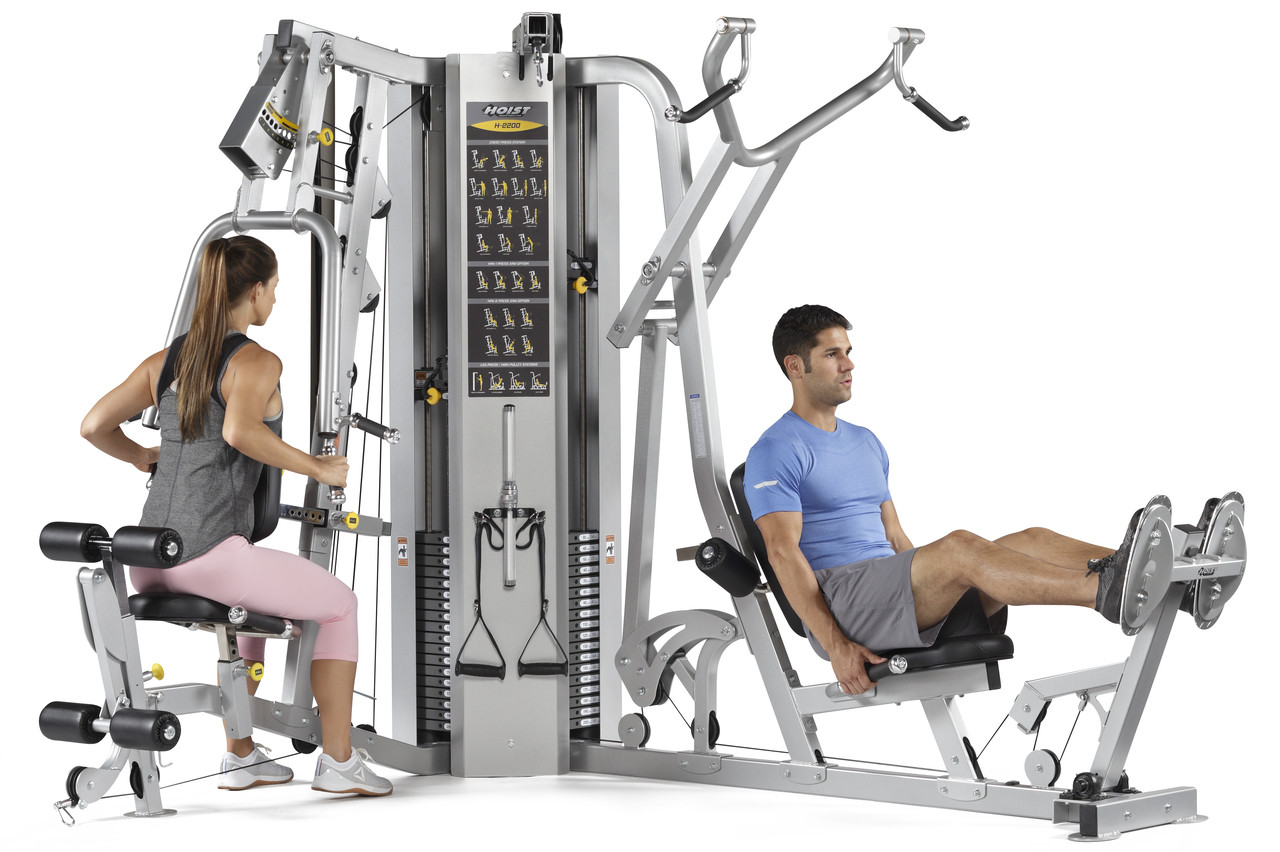 Hoist H2200 2 Stack Multi Gym The Fitness Outlet