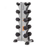 Hoist Fitness HF 5459 5 Pair Vertical Dumbbell Rack - Dumbbells Sold Separately