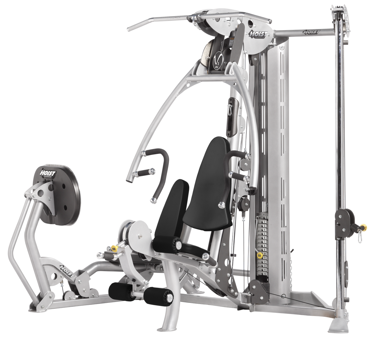 hoist v1 elite home gym the fitness outlet rh thefitnessoutlet com Bodybuiding Elite Gym Elite Gymnastics