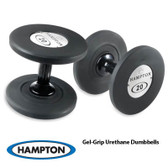 Hampton Gel Grip Urethane Dumbbells