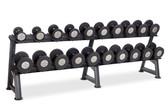Set Includes 10 pr Dumbbells (5-50 In 5 lb Increments) 2T-SDL-10 rack not included