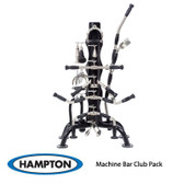 Hampton Machine Bar Attachment Club Pack 15 Piece Set with Urethane Grips