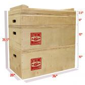 Xtreme Monkey Wood Jerk Blocks