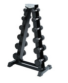Spri A-Frame Dumbbell Rack for Deluxe Rubber Dumbbells