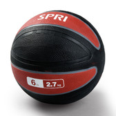 Spri Red Xerball Medicine Ball - 6lb
