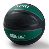 Spri Green Xerball Medicine Ball - 18lb