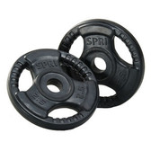 Spri Weight Plate Pairs - For Adjustable Barbell Set