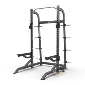 True Fitness XFW-8100 Half Rack - Shown with Optional Band Peg Kit