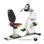 SciFit Inclusive Fitness IF ISO7000R Bi-Directional Recumbent Bike