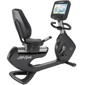 Life Fitness Platinum Club Series Recumbent Lifecycle with Discover SE3 HD Console