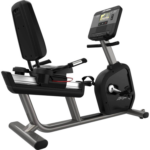Life Fitness Club Series + Plus Recumbent Bike with X Console