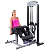 Body-Solid PRO-Select Leg Ext. & Leg Curl Machine