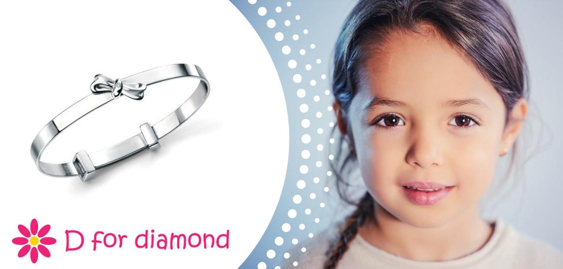 D for Diamond girls jewellery