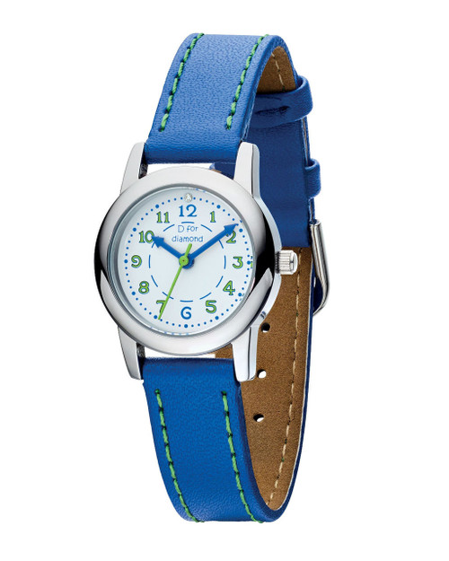 D for Diamond Boy's Watch