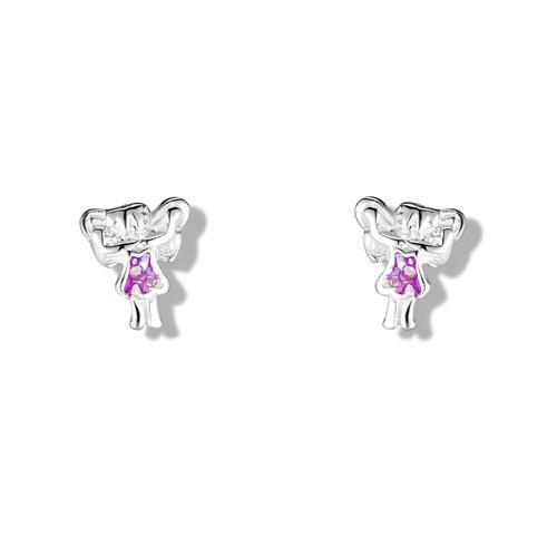 Girls little fairy earrings