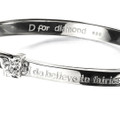 D for Diamond Believe in Fairies Bangle B4315