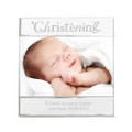 Personalised Christening photo frame