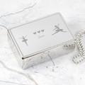 Personalised Ballerina Rectangle Jewellery Box