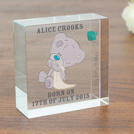 Personalised Christening Gift - Glass Token